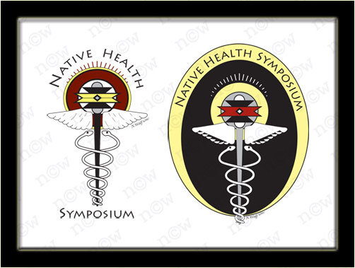 Native Health Symposium Logos (Nicole Wolf)